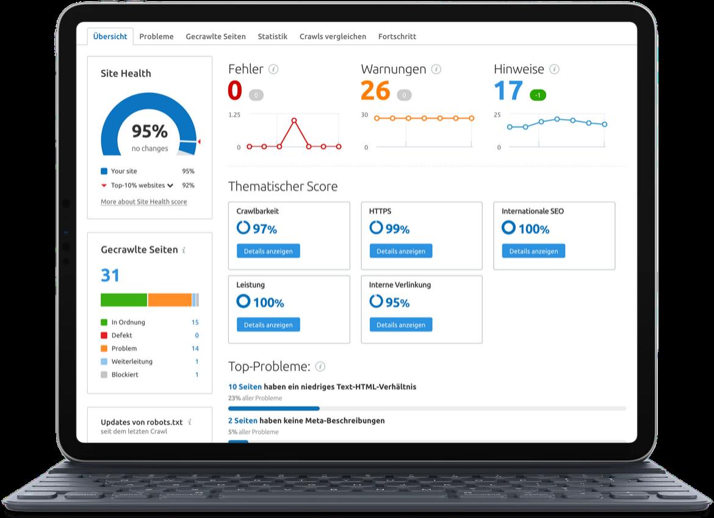 SEO: technische Optimierung von Websites
