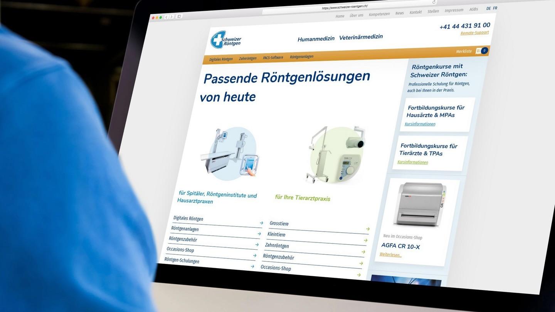 Schweizer Röntgen Screen