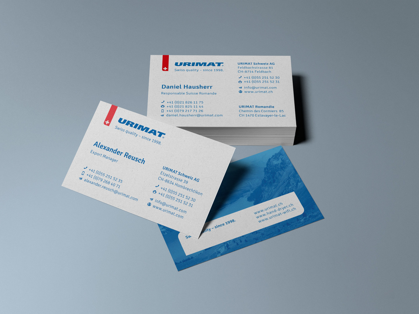 URIMAT Schweiz AG Corporate Design