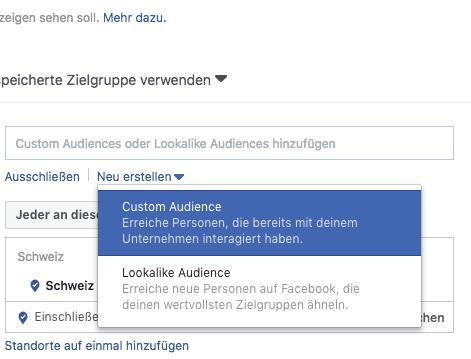 Mit Facebook Custom Audiences Leads aufbauen und Loyalität fördern