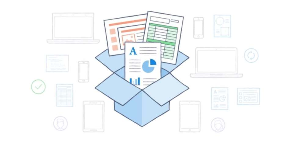Dropbox Schachtel