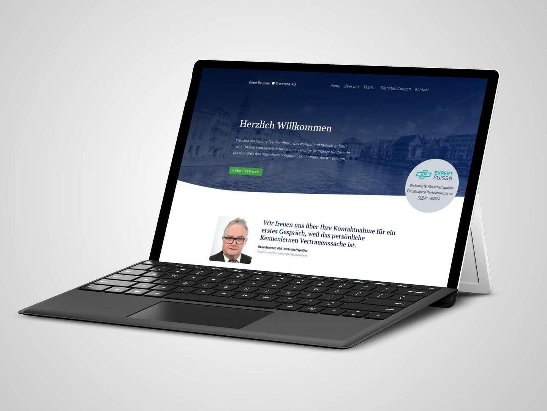Websites mit CMS von Neos für KMU's