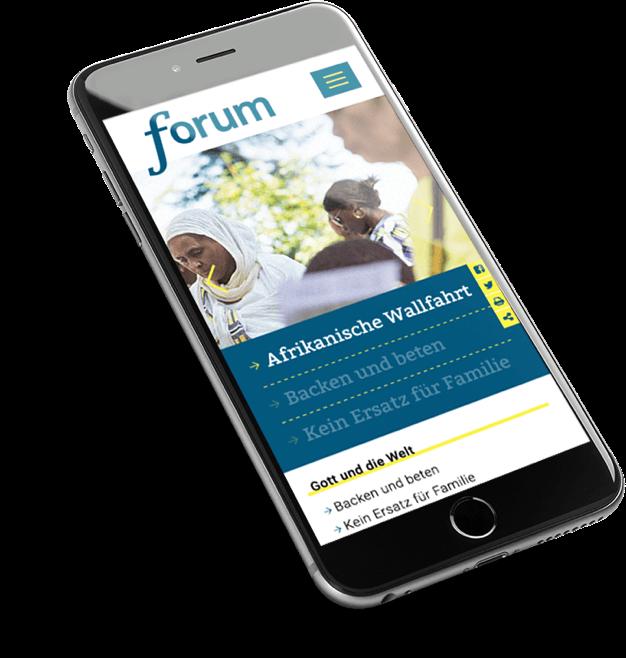 Mobile Ansicht von Forum-Pfarrblatt